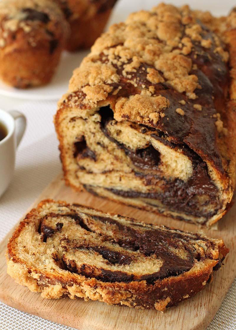 Whole Grain Chocolate Babka | Red Star Yeast