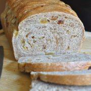Apple Cinnamon Raisin Bread | Apple juice, cinnamon, and raisins - a subtle blend of flavors, a marvelous loaf of bread! Find recipe at redstaryeast.com.