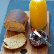 Banana Bread | The bananas must be ripe to give the rich taste to this bread. The bread keeps well and tastes even better the next day. Exceptionally good toasted. Find recipe at redstaryeast.com.