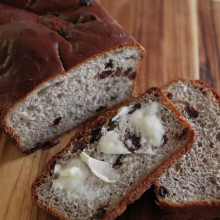 Batterway (No Knead) Prune & Spice Bread