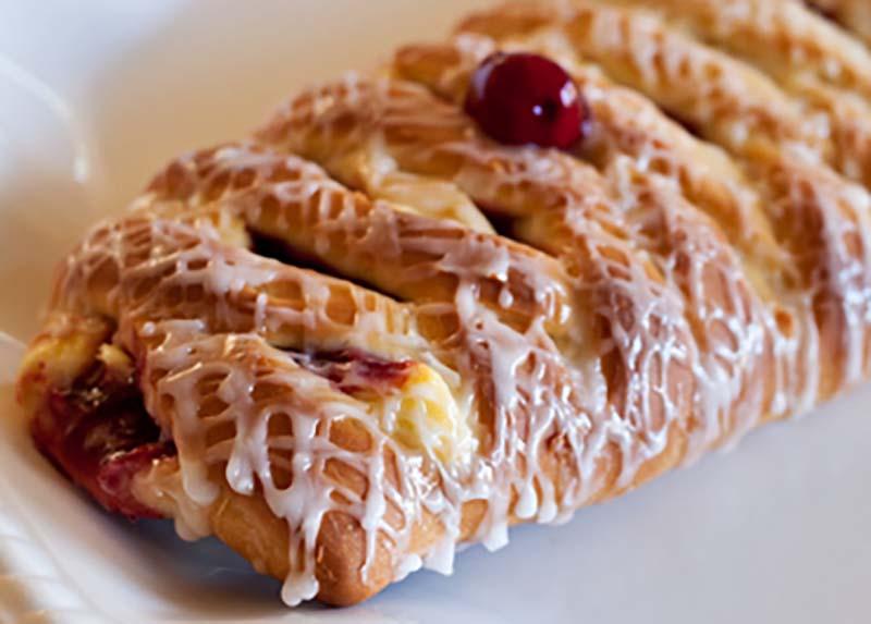 Cherry 'n Cheese Lattice CoffeeCake