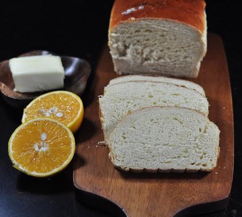 Cream of Orange Bread