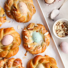 Easter Egg Bread Ring