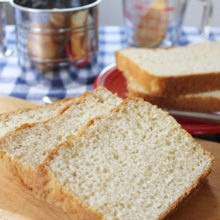 Gluten Free Farmhouse Buttermilk Bread