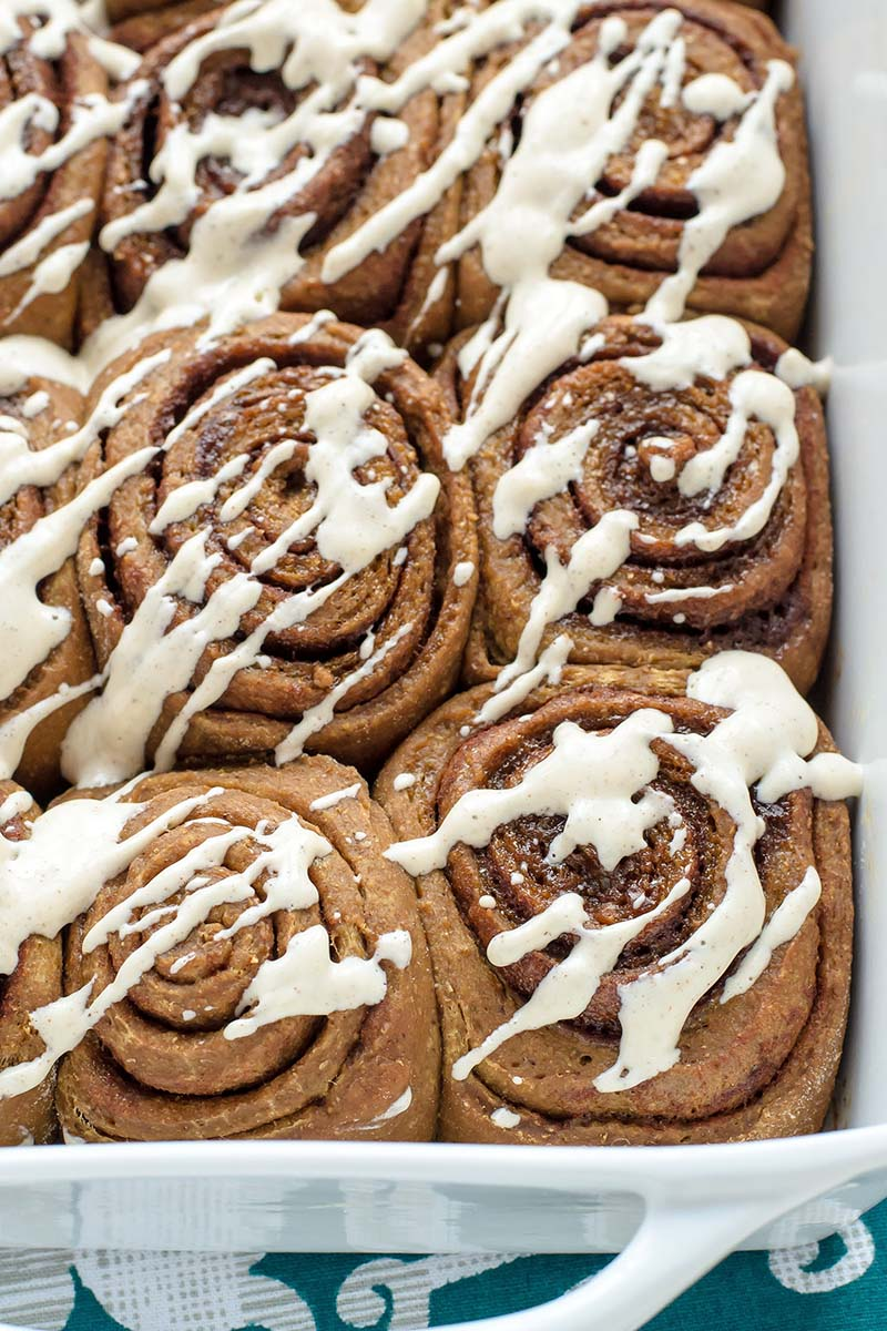 how to make cinnamon rolls with yeast