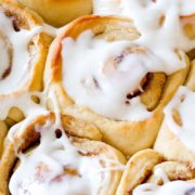 Overnight Cinnamon Rolls | Soft, fluffy, buttery cinnamon rolls you can begin ahead of time. Save time in the morning and have everyone wake up to warm, fresh, cinnamon goodness! Find recipe at redstaryeast.com.