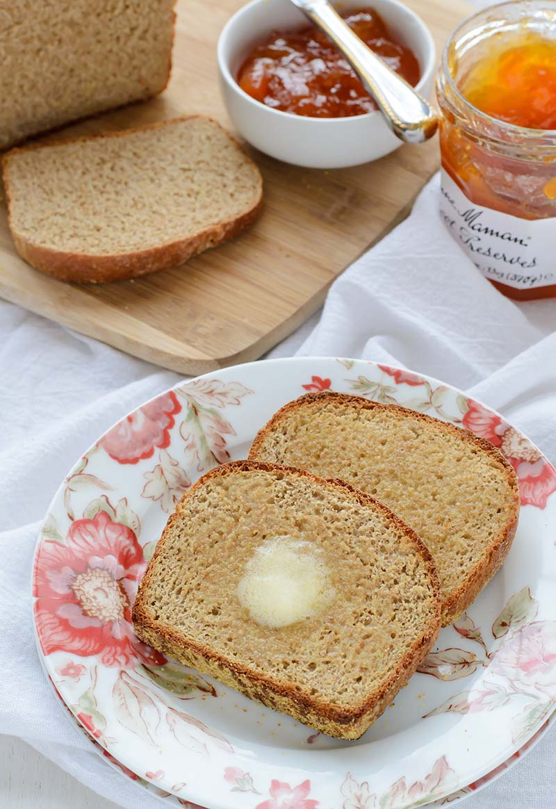 Whole wheat english muffin bread recipe red star yeast forumfinder Gallery