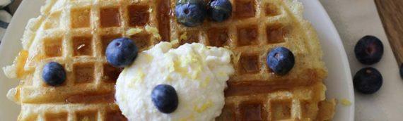 Gluten Free Yeasted Buttermilk Waffles