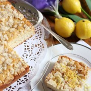 Lemon Crunch Coffee Cake