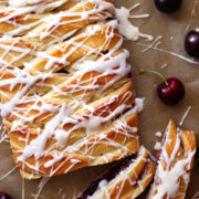 Cherry Almond Danish Braid recipe
