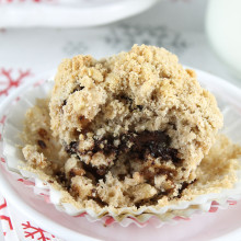 Chocolate Chunk Coffee Cake Muffins