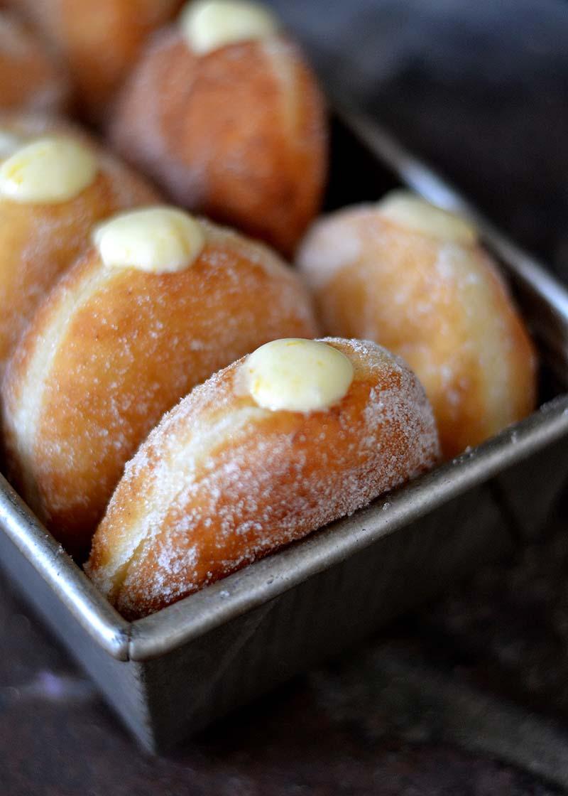 meyer lemon cream doughnuts red star yeast