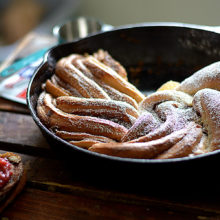 Skillet Cinnamon Buttermilk Bread
