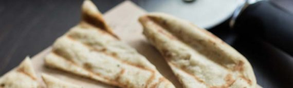 Grilled Roasted Garlic and Herb Flatbreads