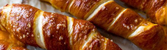 Cheesy Pretzel Twists