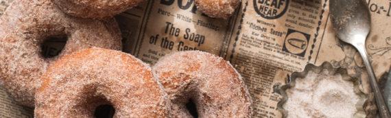 Pumpkin Spice Sugared Doughnuts