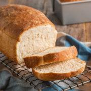 Homemade Fluffy White Breadad