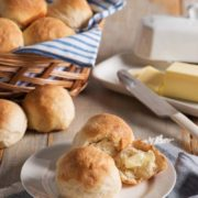 Quick Buttermilk Yeast Rolls | Light and fluffy buttermilk yeast rolls - made from scratch, with love. Serve warm with your favorite every-day dinner or special occasion meal. Find recipe at redstaryeast.com.
