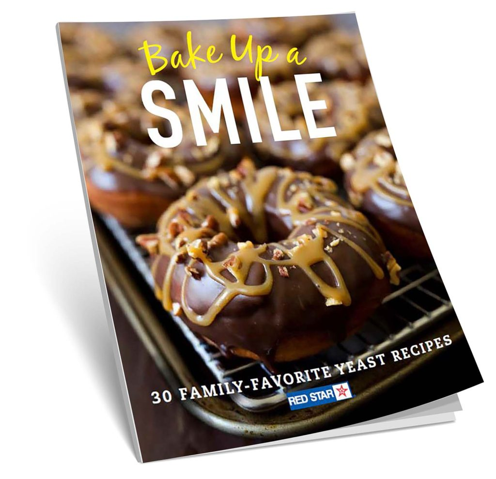 Red Star Yeast Bake Up A Smile cookbook giveaway. Ends 3/26/17.