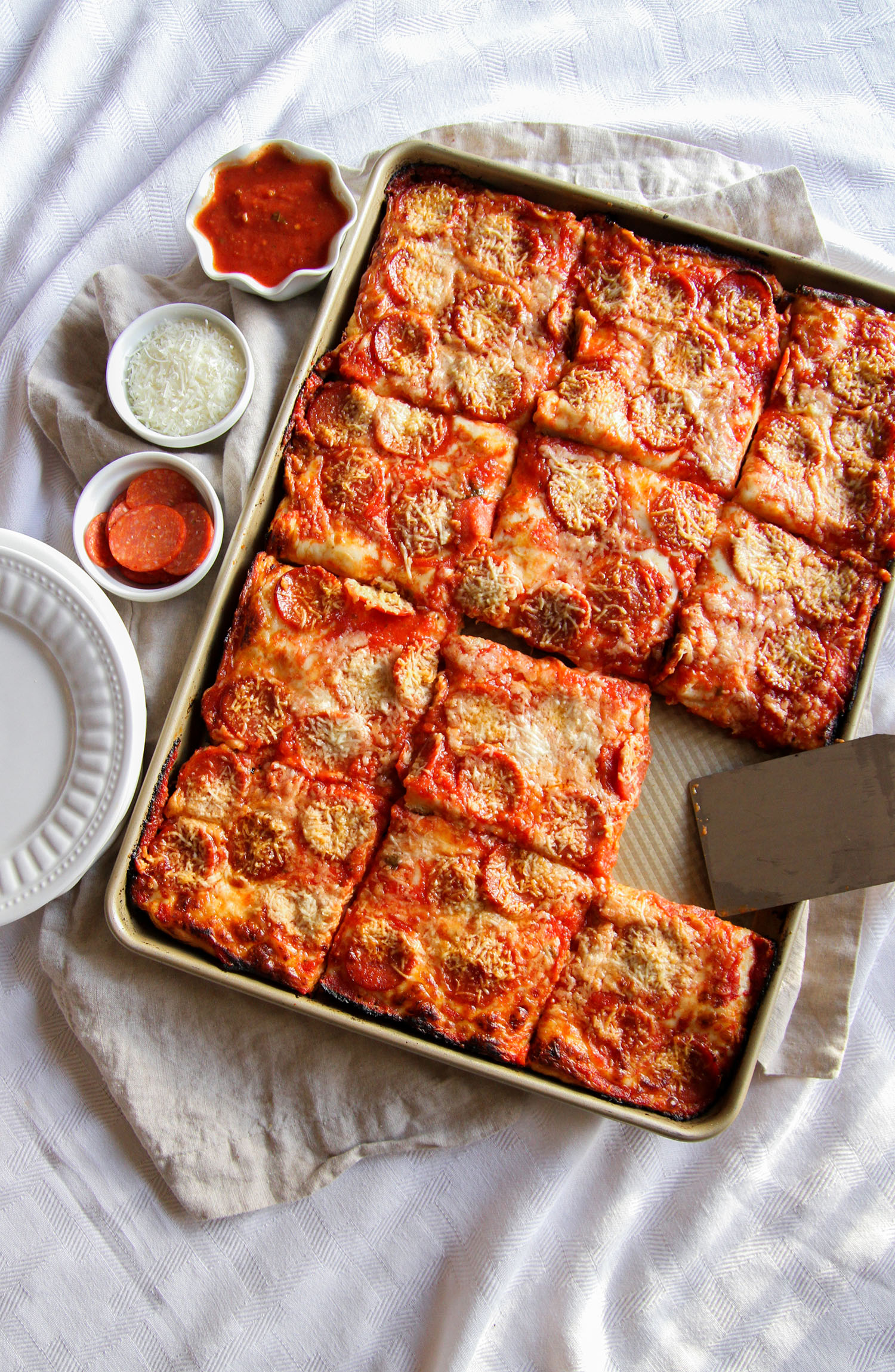 Sheet Pan Pizza Red Star Yeast