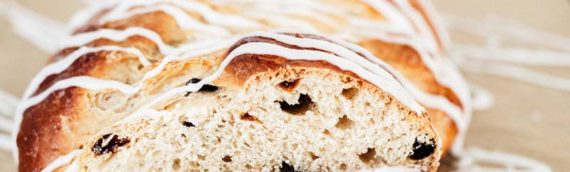 Braided Rum Raisin Bread