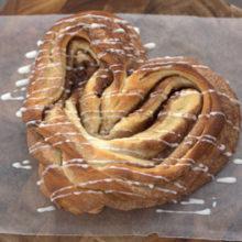 Cinnamon Heart Bread