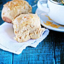 Whole Wheat Cottage Cheese Rolls | The cottage cheese blends in quickly with the other ingredients, making for light, fluffy rolls. Find recipe at redstaryeast.com.