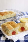 Wiener Bread | A hot dog and bun in one easy dish. The kids will love it! Find recipe at redstaryeast.com.