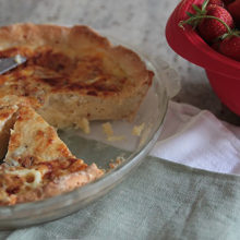 Yeast-Crust Quiche