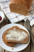 100% Whole Wheat Bread | A classic whole wheat bread; slice thick to enjoy with soup or thin for sandwiches. Find recipe at redstaryeast.com.