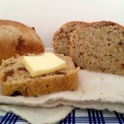 Banana Date Bread | A rich loaf studded with dates and the full flavor of banana is sure to become a favorite. Find recipe at redstaryeast.com.