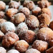 Batterway Drop Doughnuts   Easy, no knead bite-sized fried yeast doughnuts. Find recipe at redstaryeast.com.
