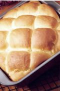 Buttermilk Pan Rolls | What could be easier than preparing and baking a pan of buttermilk yeast rolls in about an hour and a half? They're light and tender - simply delicious! Find recipe at redstaryeast.com.
