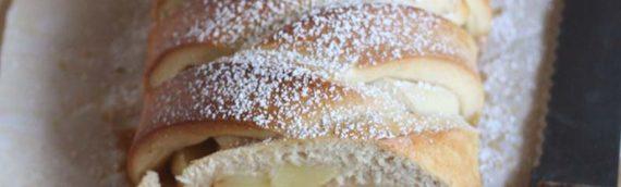 Caramel Apple Braided Loaf