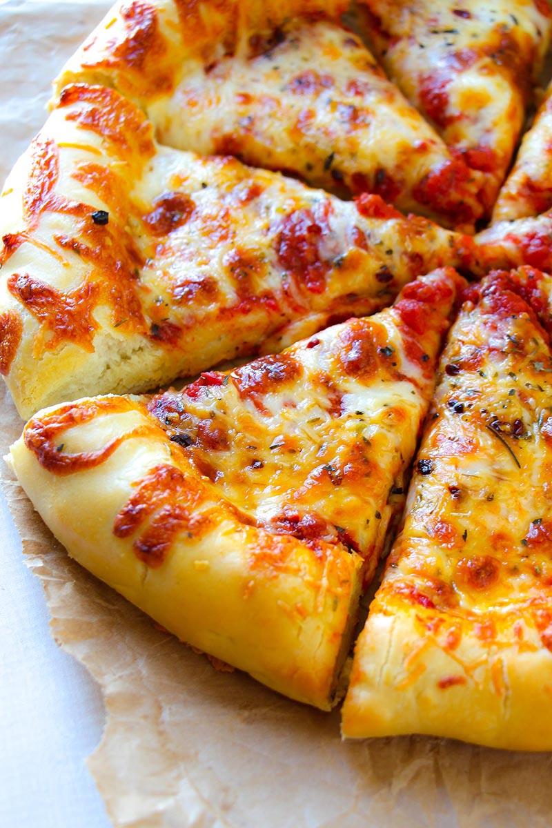 Cheesy Crust Pizza Red Star Yeast