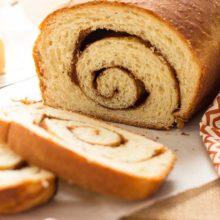 Cinnamon Swirl Loaves