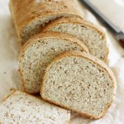 Cracked Wheat Bread | The nutritional buzz word for better health is fiber. Besides adding flavor and texture to bread, cracked wheat also adds incredible nutritional value. Find recipe at redstaryeast.com.