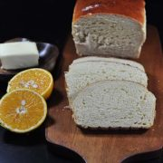 Cream of Orange Bread | The sunny flavor of orange shines through with every slice of this wonderful bread. Find recipe at redstaryeast.com.