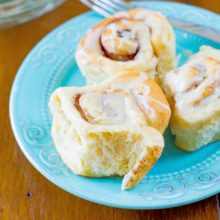 Easy Cinnamon Rolls | Quick and easy cinnamon rolls with only one rise.
