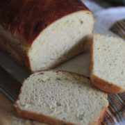 Green Onion Potato Bread | During the days of homesteading, pioneer wives often had to extend their meager supply of wheat by adding other starches to their bread dough as with potato bread. The chopped green onions in our recipe update this American classic. Find recipe at redstaryeast.com.