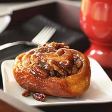 Pecan Sticky Buns | Light, full of flavor-the cinnamon filling complementing the glazed caramel topping. Find recipe at redstaryeast.com.