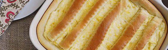 Pineapple Cheese Coffee Cake