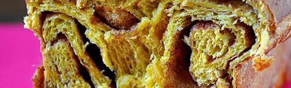 Pumpkin Spice Cinnamon Roll Brioche