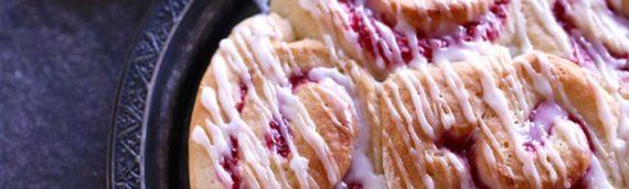 Raspberry Coconut Sweet Rolls