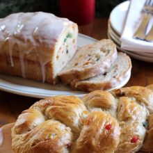 Rich Fruit Bread | Fill your home with the cinnamon-rich aroma of the holidays with this festive holiday bread. Find recipe at redstaryeast.com.