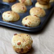 Savory Cheese Dinner Rolls | Easy no-knead savory cheesy rolls for your next barbecue. Find recipe at redstaryeast.com.