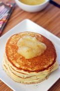 Spicy Yeast Pancakes | Yeast makes these pancakes extra light and tasty - a great aroma while they are baking! Find recipe at redstaryeast.com.