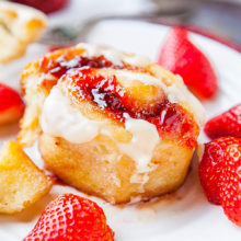 Strawberry Sweet Rolls recipe