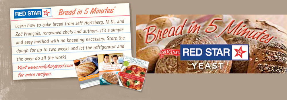 bread in 5 minutes