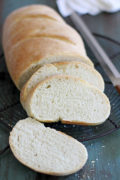 Italian Bread | Flaky crust on the outside, soft on the inside, this Italian bread is everything you want homemade bread to be and more. Find recipe at redstaryeast.com.